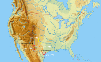 Location where Apachean people lived
