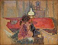 Woman with a Lamp by Pierre Bonnard, 1909.jpg