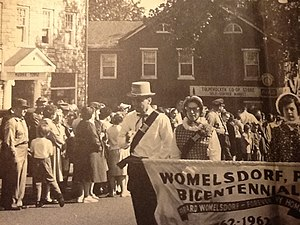 Womelsdorf, Pennsylvania - Womelsdorf Parade 1962.