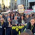 Women's March London Arrives at Trafalgar Square (32293217872).jpg