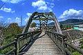 Wooden Bridge:木製の橋 - panoramio.jpg