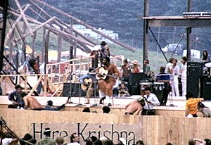 Richie Havens - Havens playing at Woodstock Music Festival 1969