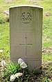 Woolley (William George) CWGC gravestone, Flaybrick Memorial Gardens.jpg
