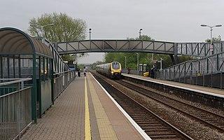 Worle railway station Railway station in Weston-super-Mare, England