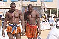 Yahaya Kaka et Issaka Issaka, 2 lutteurs du Niger.jpg