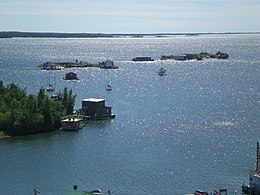 Yellowknife houseboats.JPG