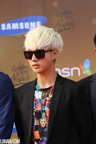 Yesung - Yesung at 27th Golden Disk Awards Red Carpet on January 2013.
