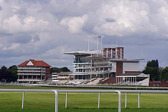 York Racecourse - A view of the Ebor stand at York Racecourse