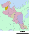 Yosano in Kyoto Prefecture Ja.svg