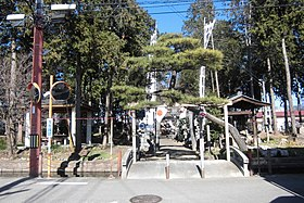 Yoshikiyo Shrine Syouwa Town.JPG
