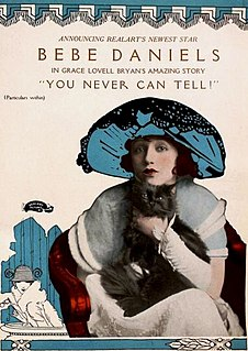 <i>You Never Can Tell</i> (1920 film) 1920 film