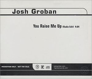 You Raise Me Up - U.S. promotional CD release