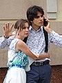 Young Couple - Podil District - Kiev - Ukraine (29841100238).jpg