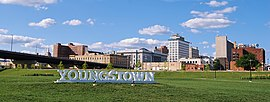 Lo skyline di Youngstown Wean Park.jpg