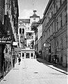 Zágráb a Jugoszláv Királyság idején. A Sikló és a Lotrscak torony. Fortepan 6199.jpg