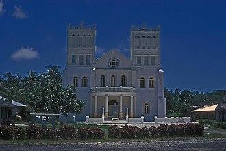 Leone, American Samoa - Zion Church