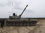"""Zawody o tytuł """"Mistrza ognia artyleryjskiego 11 Lubuskiej Dywizji Kawalerii Pancernej"""" (03).jpg"""