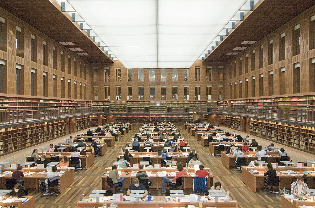 S chsische landesbibliothek staats und for Industriedesign dresden