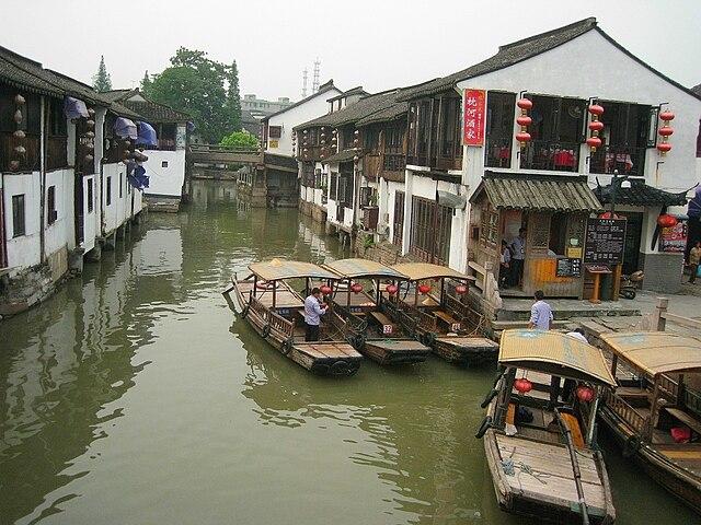 Zhujiajiao Canal Town