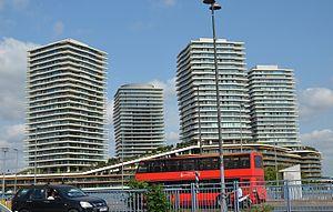 Zorlu Center - Zorlu Center Towers on Büyükdere Avenue