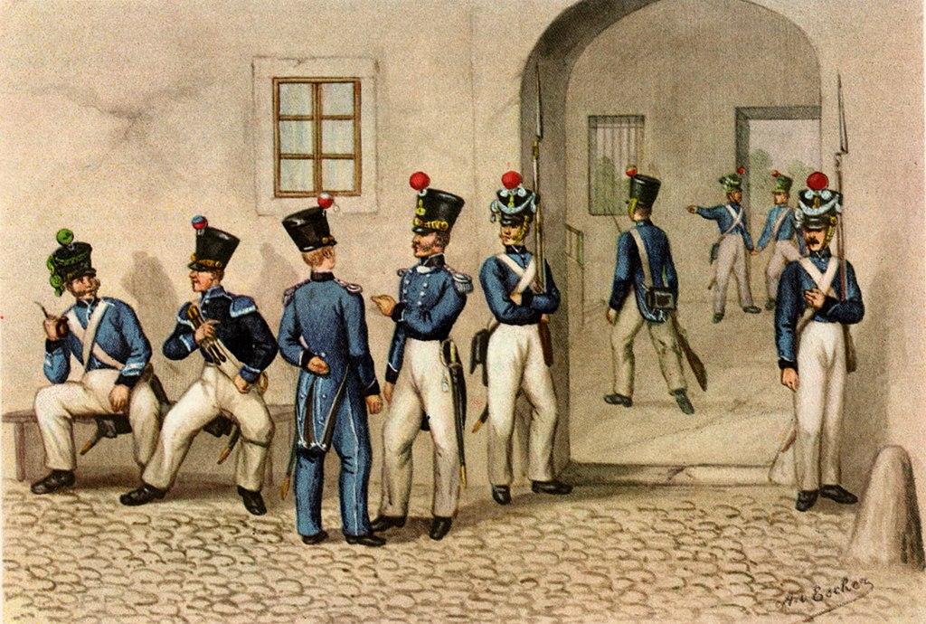 Zuercher Infanterie 1830 47