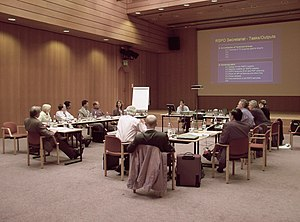 Picture of the RT2 (Roundtable No 2) in Zurich...