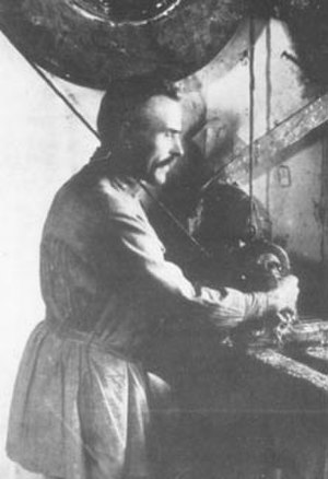 Vasily Zvyozdochkin - Zvyozdochkin at work