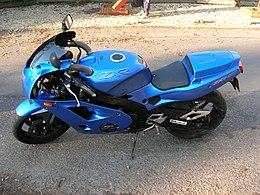 Kawasaki ZXR 400 Zxr400l1blue
