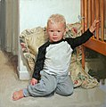 """Aaron"" (portrait of kneeling toddler by Aapo Pukk).jpg"