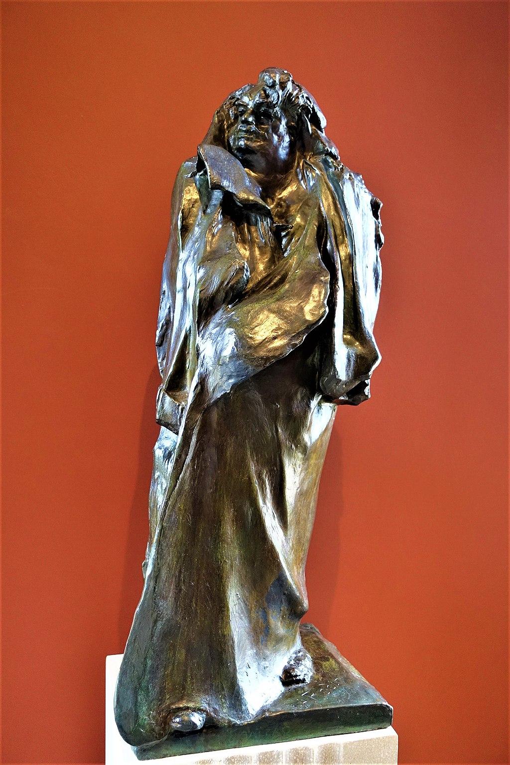 """""""Balzac"""" by Auguste Rodin - www.joyofmuseums.com - Rodin Museum, Philadelphia"""