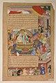 """Tumanba Khan, His Wife, and His Nine Sons"", Folio from a Chingiznama (Book of Genghis Khan) MET sf48-144a.jpg"