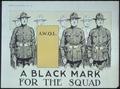 """ A Black Mark for the Squad. A.W.O.L."" - NARA - 512701.tif"