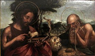 Saint John the Baptist and Saint Jerome