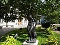 (2) Bucuresti, Romania. Muzeul Colectiilor de Arta. Curtea.(Statuie de Johann Christian Hirt. -Andromeda).jpg