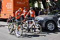 (L-R) Rob Britton and Danny Pate of Rally Cycling (34865740921).jpg
