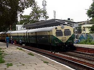 Bolarum – Secunderabad route (MMTS, Hyderabad) - (SC-Medchal) DHMU at Alwal Railway Station