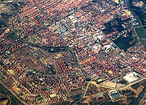 (San Blas-Canillejas) Aerial-SouthEast Madrid (cropped).jpg