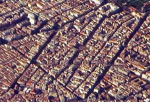 (Trafalgar) Madrid - Aerial photograph (cropped).jpg
