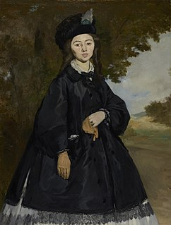 Portrait of Madame Brunet painting by Édouard Manet