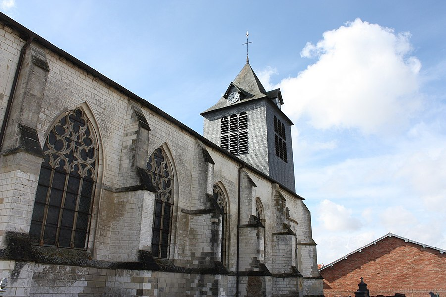 Église Saint-Martin d'Huiron (Classé)
