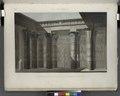 Île de Philæ. Vue perspective intérieure coloriée, prise sous le portique du Grand Temple (NYPL b14212718-1267847).tiff
