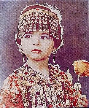 Iraqi Turkmens - An Iraqi Turkmen girl