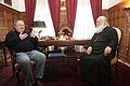Συνάντηση ΥΠΕΞ Ν. Κοτζιά με τον Mακαριώτατο Αρχιεπίσκοπο Αθηνών και Πάσης Ελλάδος κ. Ιερώνυμο (Αρχιεπισκοπή, 14.02.2015) (16341099197).jpg