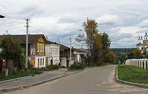 Lezhnevsky District - The urban-type settlement of Lezhnevo, the administrative center of Lezhnevsky District