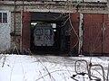 Автомобиль скорой помощи в гараже, Котлас.JPG