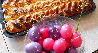 Велигденски јајца со козињак