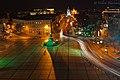 Вид на Владимирскую горку при ночном освещении с дзвонницы Софии Киевской.jpg