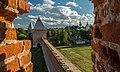 Вид на Смоленскую крепостную стену из башни Орёл.jpg