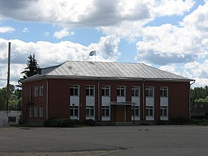 Bely, Tver Oblast - The old building of the church school.