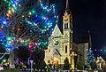 Костел Воздвиження Святого Хреста (Фастів) на Різдво 06.jpg
